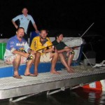 Well fished and well fed! Just like a Darwin Top End fishing trip should be!