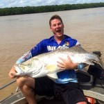 Massive Barra on DIY Fishing holiday in Darwin