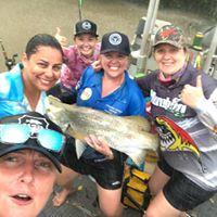 girls fishing trip away
