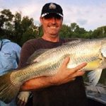 Big Barra at Daly River on Live Aboard Fishing Charters, Darwin