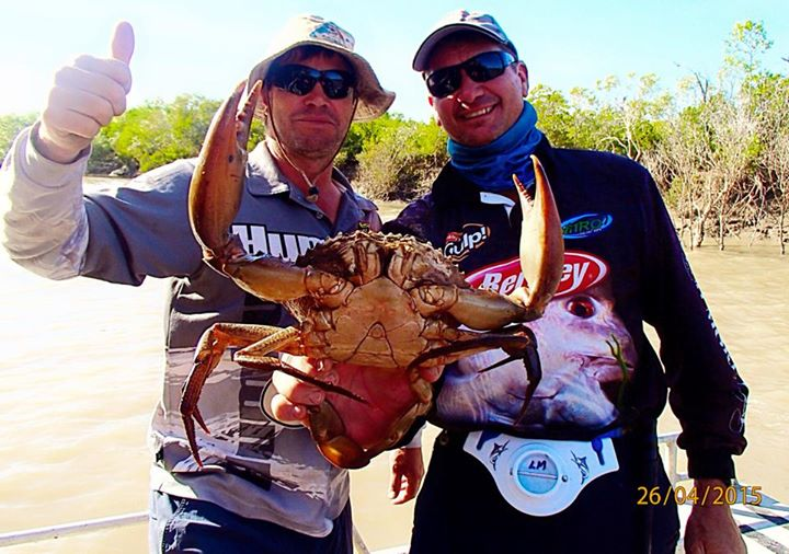Top End fishing trips: Darwin's warm weather and Chilli Mud Crabs awaits YOU!