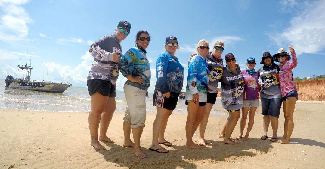 Girls weekend away in Darwin with Humbug Fishing