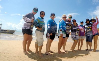 Girls weekend away in Darwin with Humbug Fishing