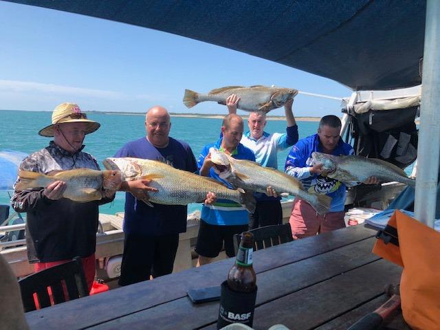 Live aboard fishing charters darwin